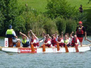Dragons Boat Race 2016 at Moatt Park